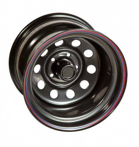 Off-Road-Wheels Black 7 x 16 6*139,7 Et: 30 Dia: 110 Black