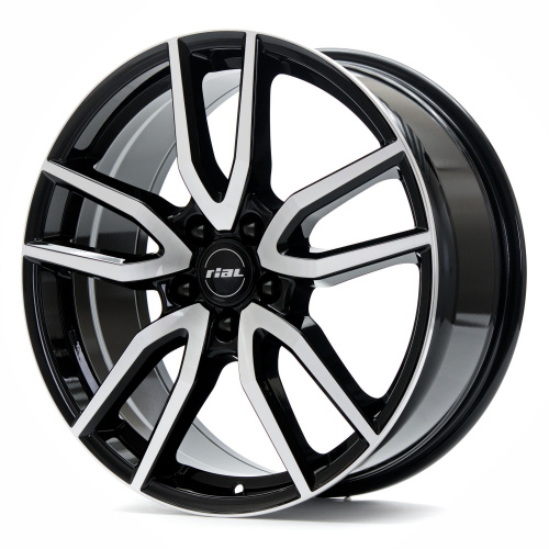 Rial Torino 8 x 18 5*112 Et: 35 Dia: 70,1 Diamond Black Front Polished